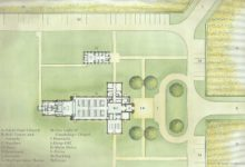 2015-12-18 Site Plan Watercolor Rendering with Key-Small